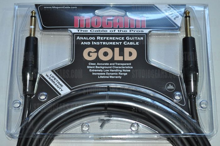 Mogami Gold Instrument Cable 25 ft., GOLD INSTRUMENT-25