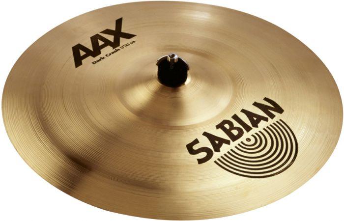 "Sabian 17"" AAX Dark Crash Brilliant Finish, 21768XB"