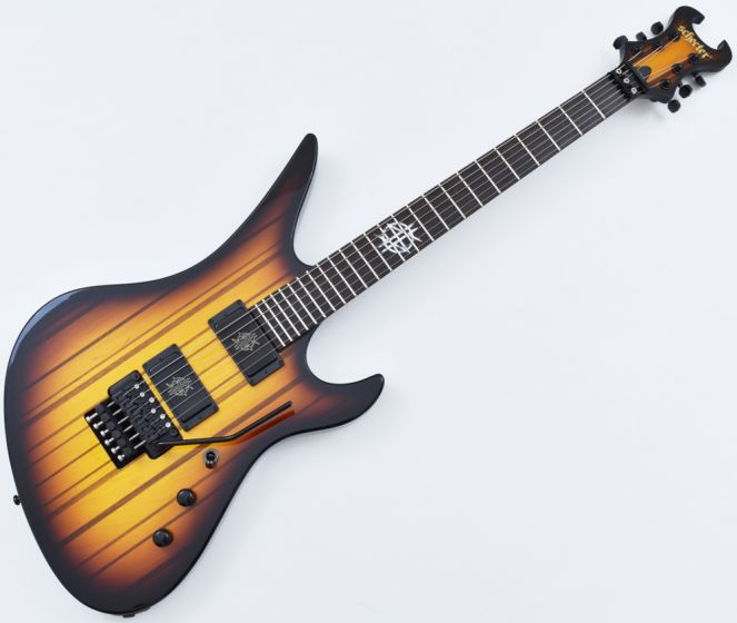 Schecter USA Synyster Gates Electric Guitar in Vintage Sunburst, 7078