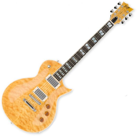 ESP USA Eclipse Electric Guitar in Vintage Natural, EUSECVN