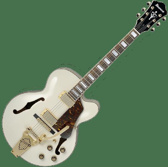 Ibanez Artcore AF75TDGIV Hollow Body Electric Guitar in Ivory Finish[, AF75TDGIV]