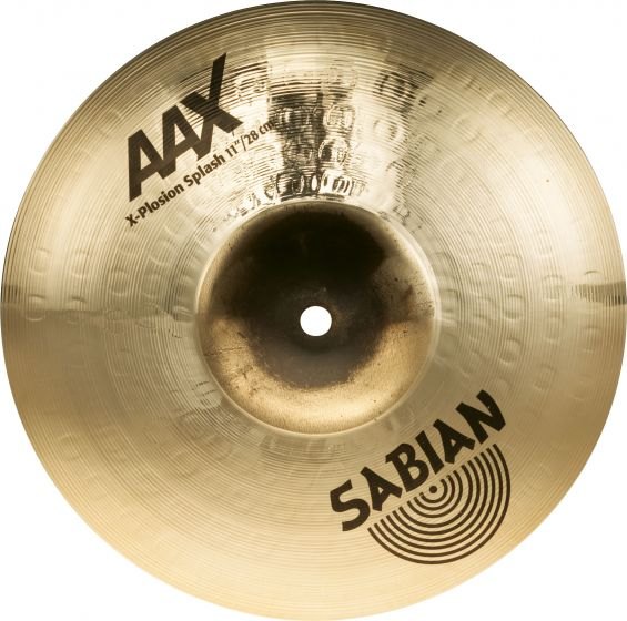 "Sabian 11"" AAX X-Plosion Splash Brilliant Finish, 21187XB"