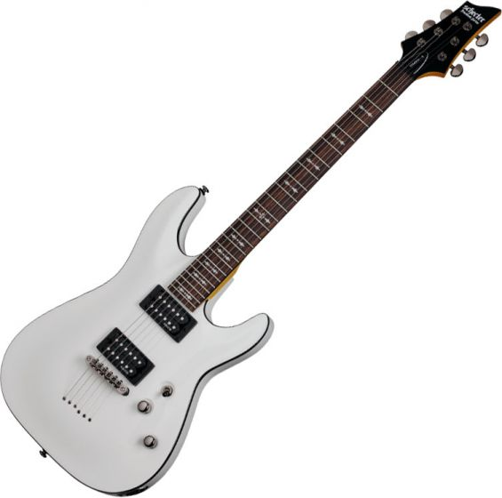 Schecter Omen-6 Electric Guitar In Vintage White Finish, 2061