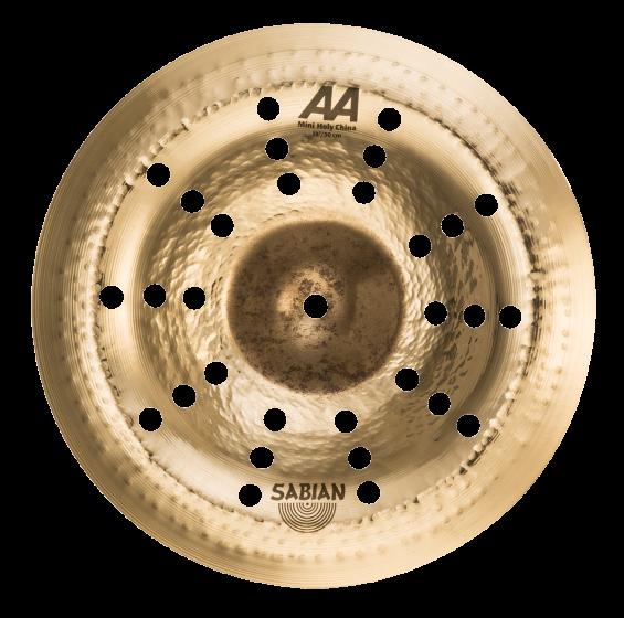 "Sabian 12"" AA Mini Holy China Brilliant, 21216CSB"