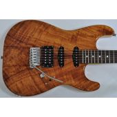 Schecter USA California Custom Elite Koa Top Electric Guitar