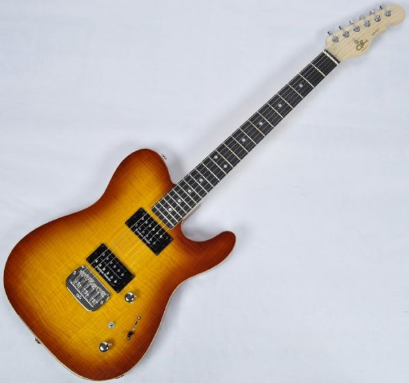 G&L ASAT Deluxe USA Custom Made Guitar in Tobacco Sunburst, G&L ASAT Deluxe Tobacco Sunburst