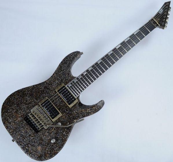 ESP M-II 7 String Exhibition Japan Custom Shop Guitar in Rusty Iron, Rusty Iron M-II-7