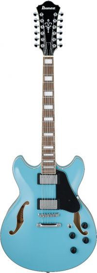 Ibanez AS Artcore 12 String Mint Blue AS7312MTB Hollow Body Electric Guitar, AS7312MTB