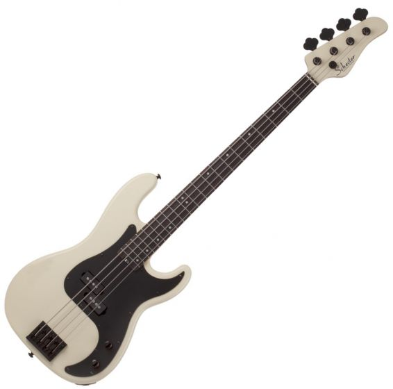 Schecter P-4 Electric Bass in Ivory, 2920