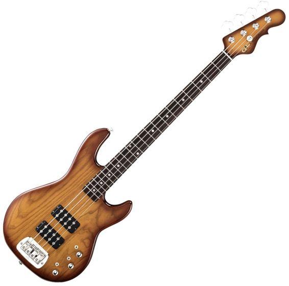 G&L Tribute L-2000 Bass Guitar in Tobacco Sunburst Finish, L2000.RW.TSB-A
