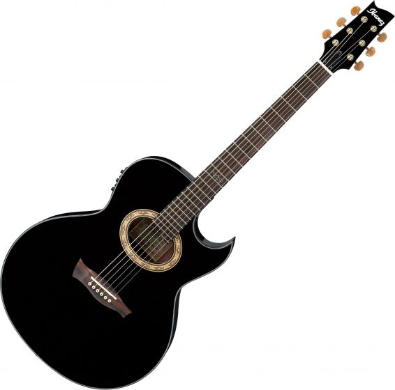 Ibanez Steve Vai EP5 Signature Acoustic Electric Guitar Black Pearl, EP5BP