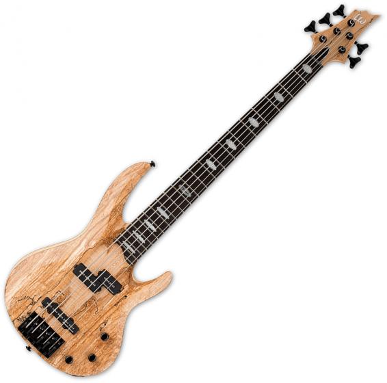 ESP LTD RB-1005SM 5 String Electric Bass Natural Satin[, LRB1005SMNS]