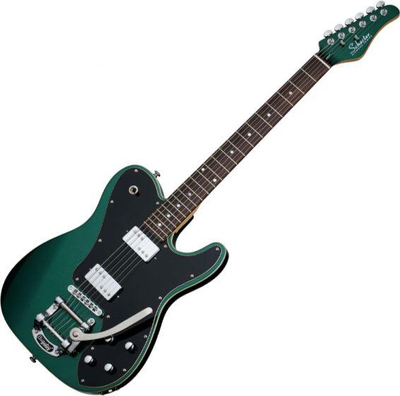 Schecter PT Fastback II B Electric Guitar in Dark Emerald Green Finish, 2210