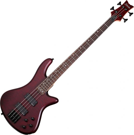 Schecter Stiletto Custom-4 Electric Bass Vampyre Red Satin, 2537