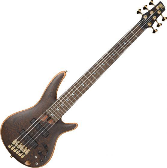Ibanez SR Prestige SR5006 6 String Electric Bass Oil, SR5006OL