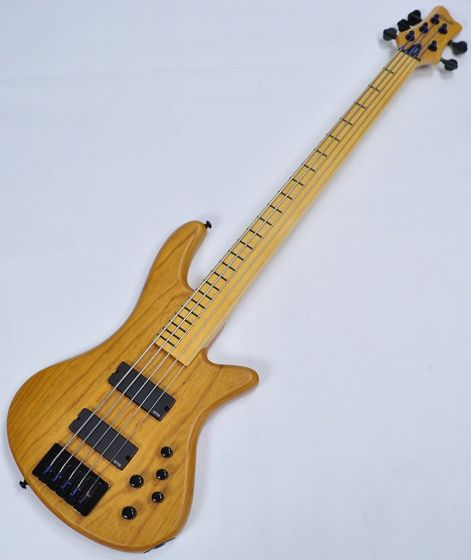 Schecter Stiletto Session-5 FL Electric Bass Aged Natural Satin, 2846