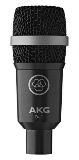 AKG D40 Professional Dynamic Instrument Microphone, 2815X00051