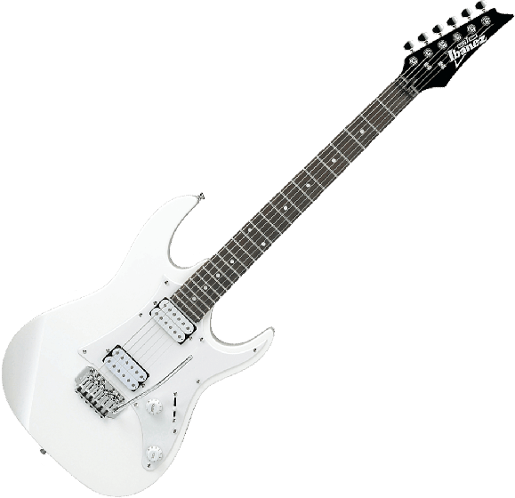 Ibanez GIO RX GRX20W Electric Guitar in White, GRX20WWH