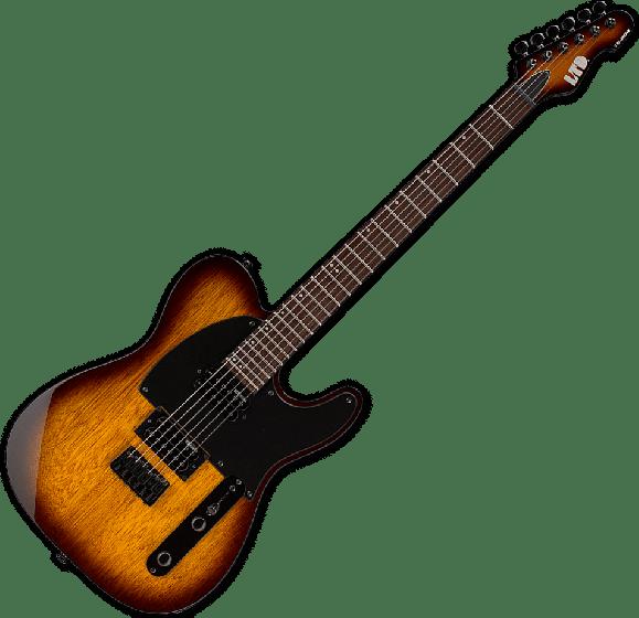 ESP LTD TE-200 Electric Guitar in Tobacco Sunburst, LTD TE200R TSB