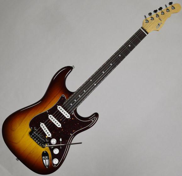 G&L USA S-500 Electric Guitar Tobacco Sunburst - Old School, S500-OST-RW 3037