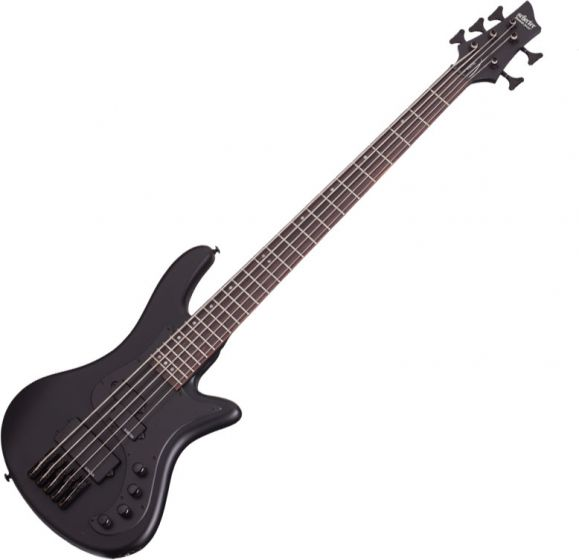 Schecter Stiletto Stealth-5 Electric Bass Satin Black[, 2523]