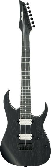Ibanez RG Prestige RGR752AHBF WK 7 String Weathered Black Electric Guitar w/Case[, RGR752AHBFWK]