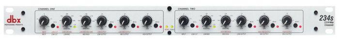 dbx 234s Stereo 2/3 Way,Mono 4-Way Crossover, DBX234SV