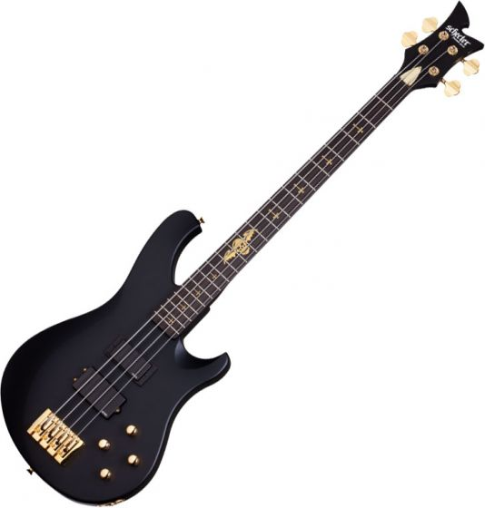 Schecter Signature Johnny Christ Electric Bass in Satin Black Finish, 213