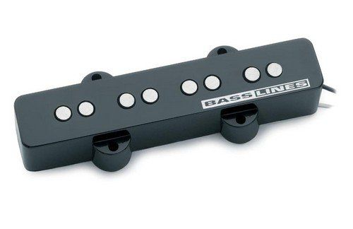 Seymour Duncan SJB-2B Hot 4-String Bridge Pickup For Jazz Bass, 11402-02