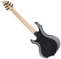 ESP LTD F-200B Baritone Electric Guitar in Charcoal Metallic Finish, LF200BCHM