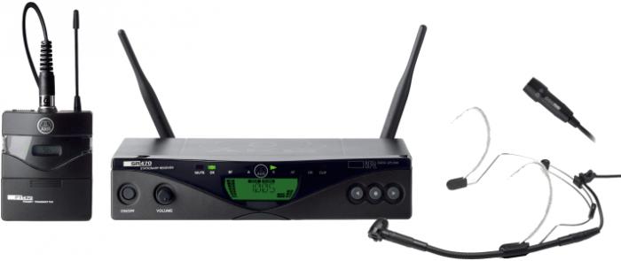 AKG WMS470 PRESENTER SET BD7 - Professional Wireless Microphone System B-Stock, 3309H00370.B