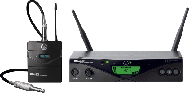 AKG WMS470 INSTRUMENT SET BD8 - Professional Wireless Microphone System B-Stock, 3307H00380.B