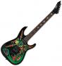 ESP George Lynch Skulls & Snakes Signature Electric Guitar Black, EGLSS