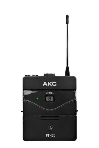 AKG PT420 Professional Wireless Bodypack Transmitter - Band A, 3412H00010