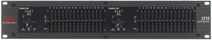 dbx 1215 Dual Channel 15-Band Equalizer, DBX1215V