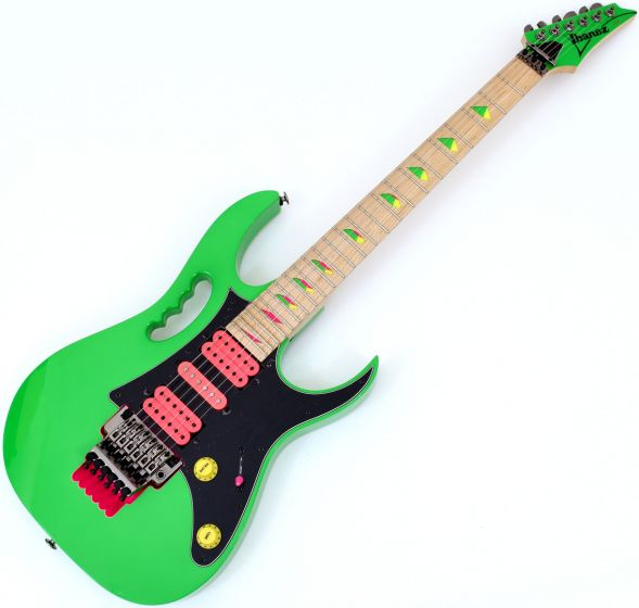 Ibanez Steve Vai Signature JEM777 Electric Guitar Loch Ness Green, JEM777LG
