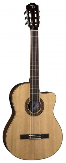 Dean Espana Fusion Solid Top Classical Acoustic Electric Guitar Spruce GN CFSS GN, CFSS GN