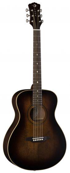 Luna Art Vintage Folk Solid Top Acoustic Guitar Distressed ART V FOLK, ART V FOLK