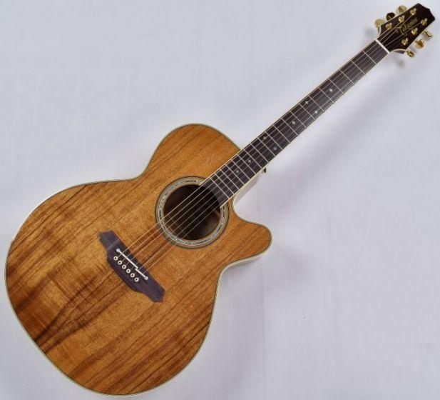 Takamine EF508KC Legacy Series KOA Top Acoustic Guitar in Natural Gloss Finish B-Stock, TAKEF508KC