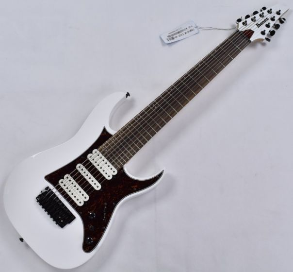 Ibanez TAM10-WH Tosin Abasi 8 String Electric Guitar in White Finish B-Stock, TAM10WH.B
