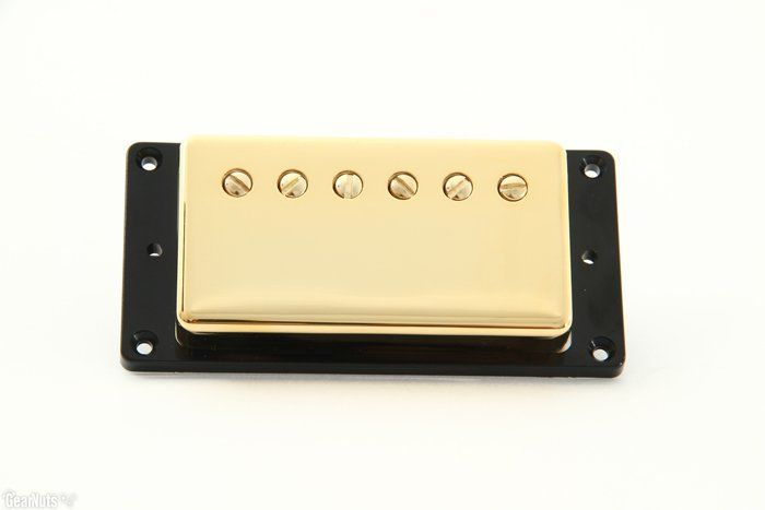 Seymour Duncan Humbucker SH-55N Seth Lover Model 4-Conductor Neck Pickup Gold Cover, 11101-20-Gc4C