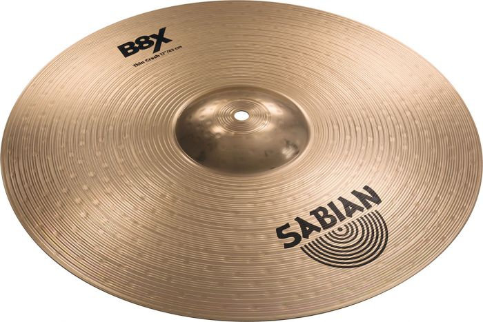 "Sabian 18"" B8X Thin Crash, 41806X"