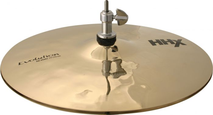 "Sabian 13"" HHX Evolution Hi-Hats Brilliant Finish, 11302XEB"