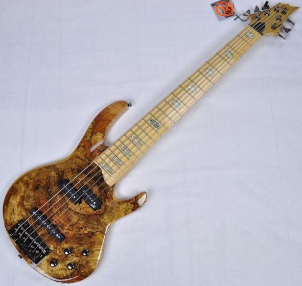 ESP LTD RB-1006SM NAT 6-String Electric Bass Guitar in Natural Finish, RB-1006SM-NAT