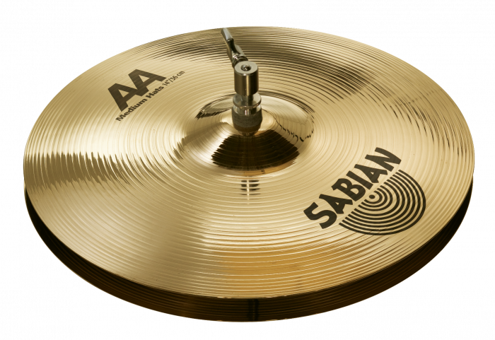 "Sabian 14"" AA M Hats Brilliant Finish, 21402B"