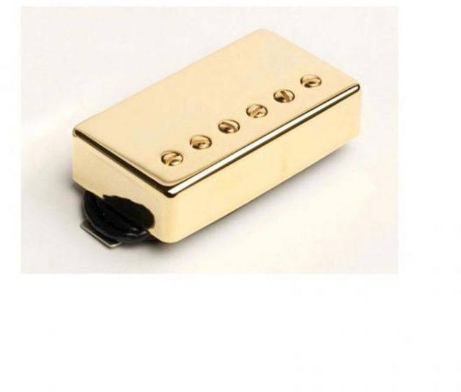 Seymour Duncan Humbucker SH-PG1n Pearly Gates Neck Pickup Gold Cover[, 11102-45-Gc]
