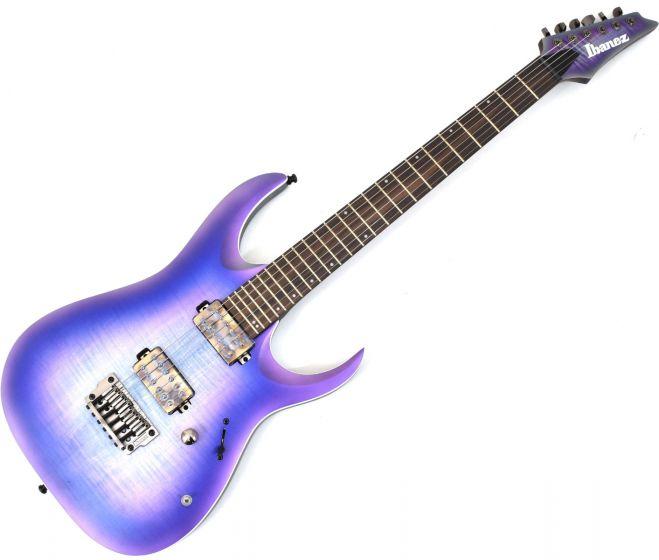 Ibanez RGA61AL IAF RGA Axion Label 6 String Indigo Aurora Burst Flat Electric Guitar, RGA61ALIAF