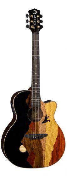 Luna Vista Wolf Tropical Wood Acoustic Electric Guitar VISTA WOLF, VISTA WOLF