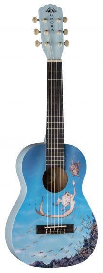 Luna Aurora 1/2 Nylon Acoustic Guitar Mermaid AR2 NYL MERMAID, AR2 NYL MERMAID