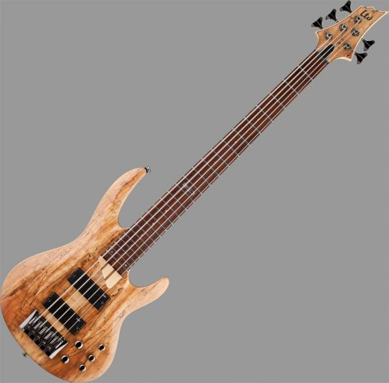 ESP LTD B-205SM Bass Guitar in Natural Stain Finish, B-205SM-NS